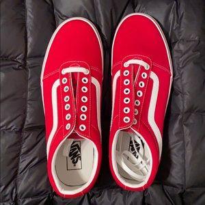 Van sneakers Red!